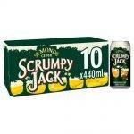 Scrumpy Jack Cider Can, 10 x 440 ml