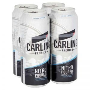 Carling Premier Lager Cans, 4 X 440 ml