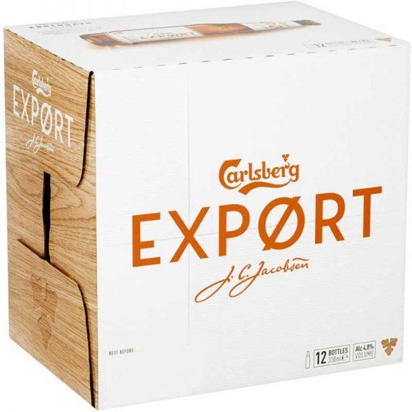 Carlsberg Export Lager Beer, 12 x 330ml