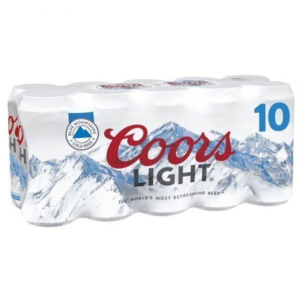 Coors Light Lager 10 x 440ml
