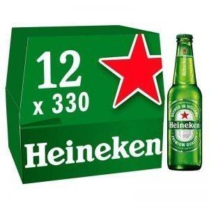 Heineken Premium Lager Beer Bottles