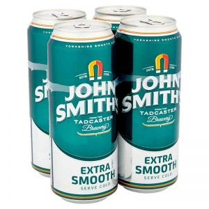 John Smith's Extra Smooth Ale Cans 4 x 440ml