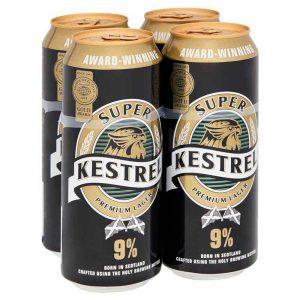 Kestrel Super Premium Lager 4 x 500ml