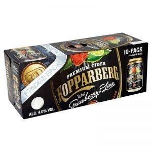 Kopparberg Strawberry & Lime Cider 10x330ml