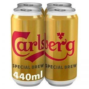 Carlsberg Special Brew Lager 4 x 440ml