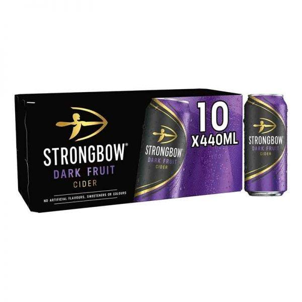 Strongbow Dark Fruit Cider 10x440ml