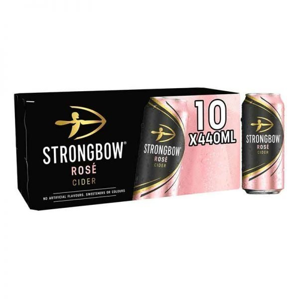 Strongbow Rose Cider 10x440ml