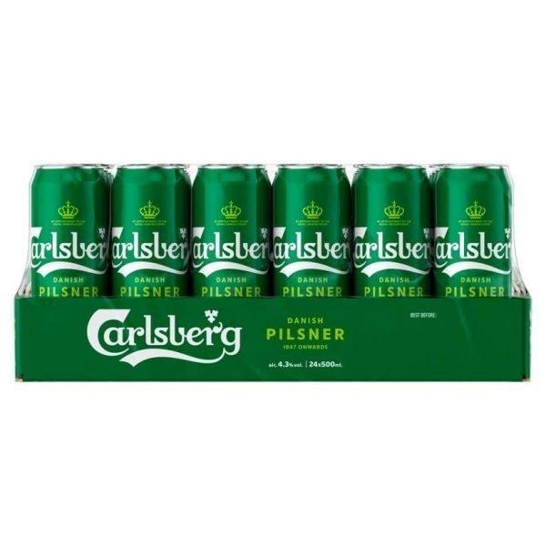 Carlsberg Danish Pilsner 24x 500ml
