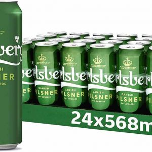 Carlsberg Danish Pilsner 24x 568ml