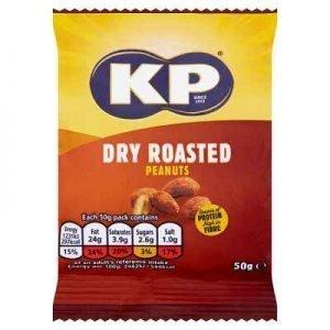 KP Nuts - Dry Roasted Peanuts