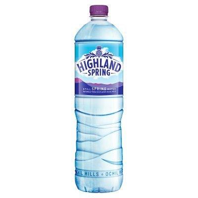 Highland spring water still 1.5L