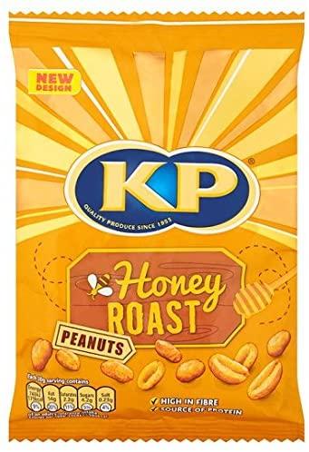 KP Nuts honey roasted peanuts