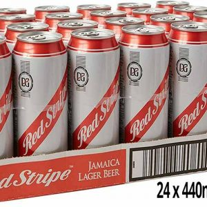 Red Stripe Jamaican Lager Beer 24 x 440ml Cans
