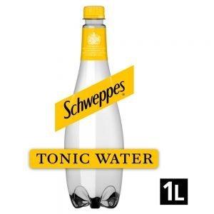 Schweppes Tonic Water 1L Bottle