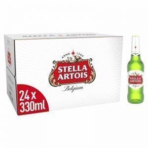 Stella Artois Lager Beer Bottles 24 x 330ml