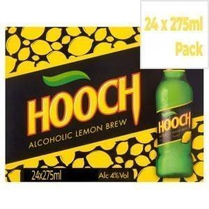 Hooch Alcoholic Lemon Brew 24 x 275ml