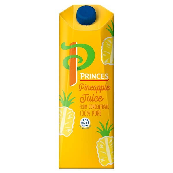 Princes 100% Pure Pineapple Juice 1 Litre