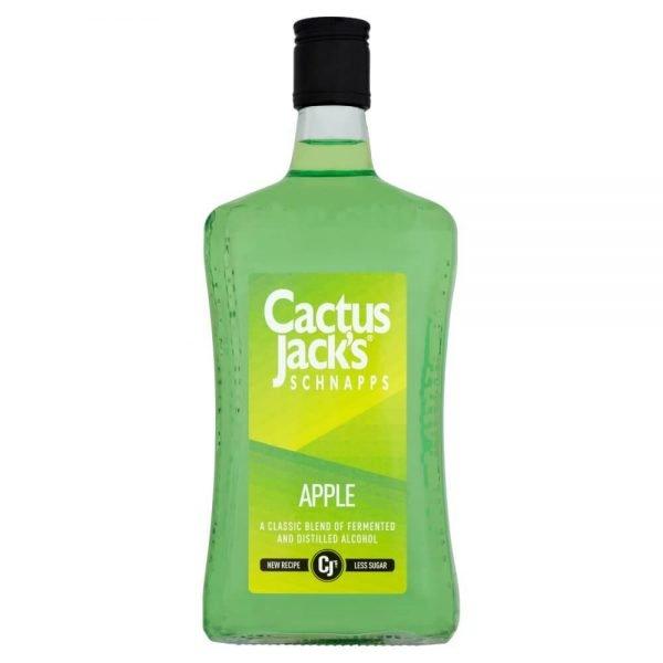 Cactus Jack's Schnapps Apple 70cl