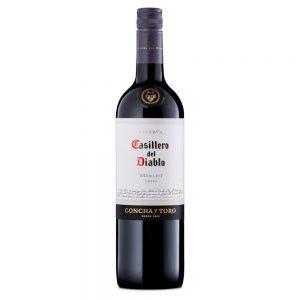 Casillero Del Diablo Reserva Merlot Red Wine 75cl