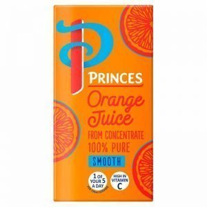 Princes 100% Pure Orange Juice 1L