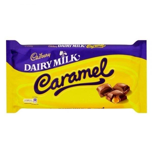 Cadbury Dairymilk Caramel Chocolate Bar 120g