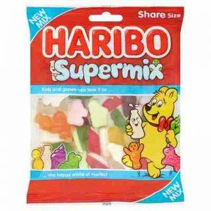 Haribo Supermix 160g Fruity Gummy sweets