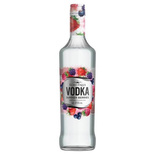 Echo Falls Summer Berries Vodka, 70cl