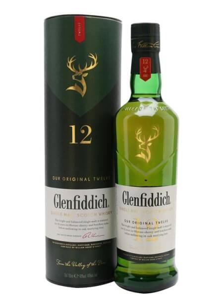 Glenfiddich Single Malt Scotch Whisky 70cl