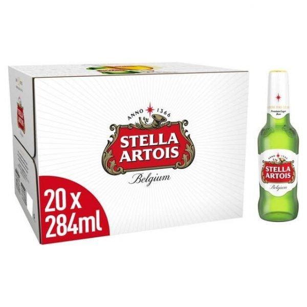 Stella Artois 20 x 284ml Bottles