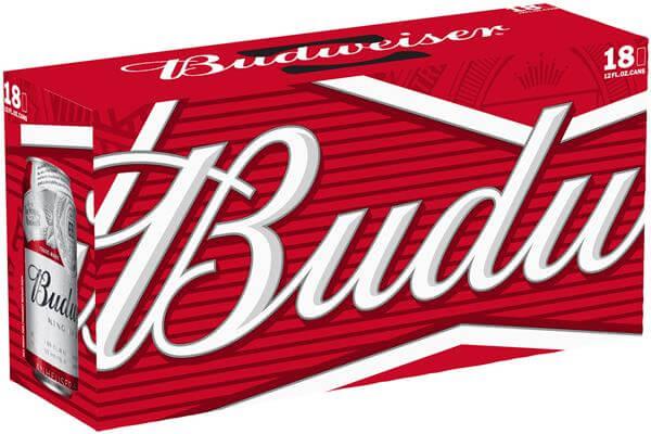 Budweiser 18 x 440ml