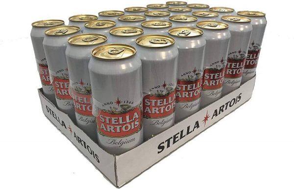 Imported Stella Artois 24 x 568ml
