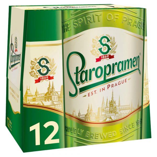 Staropramen 12 x 330ml bottles