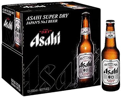 Asahi Japan Beer 10 x 300ml bottles