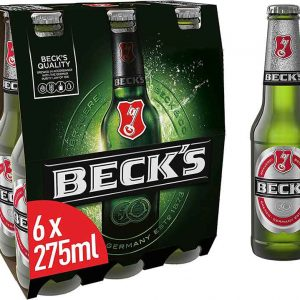 Budweiser 6 x 300ml lager beer