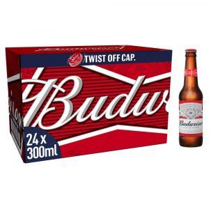 Budweiser 24 x 300ml Bottles