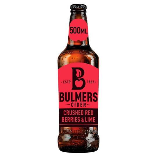 Bulmers Red Berries 500ml Bottle