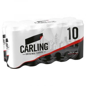 Carling 10 x 440ml cans
