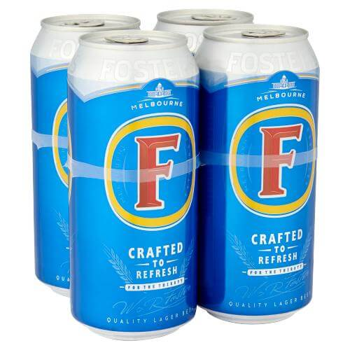 Fosters 4 x 440ml cans