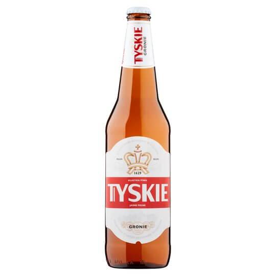 Tyskie Beer 660ml Bottle