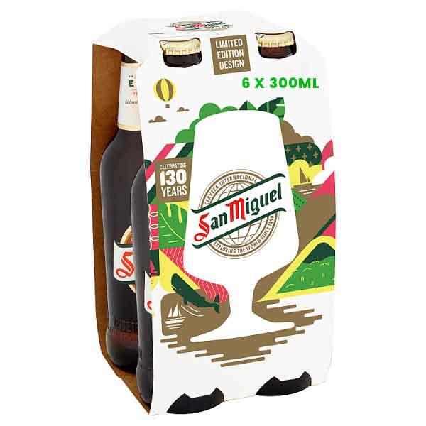 San Miguel Bottles 18 x 330ml