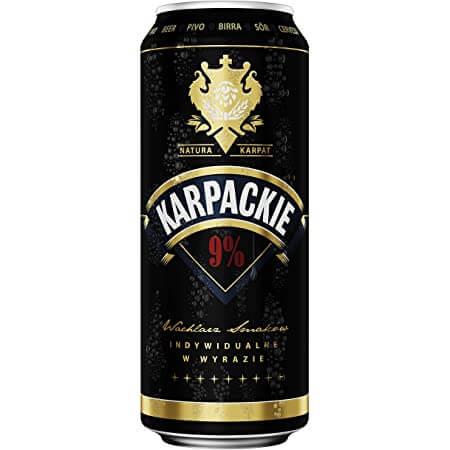 Karpackie 9% 24 x 500ml cans