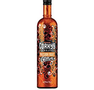 Corkys Passion Fruit Glitter Schnapps 70cl