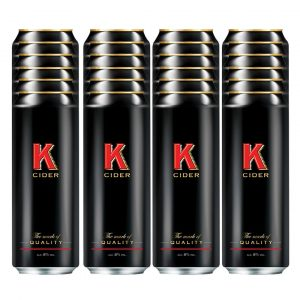 K cider 24 x 500ml cans