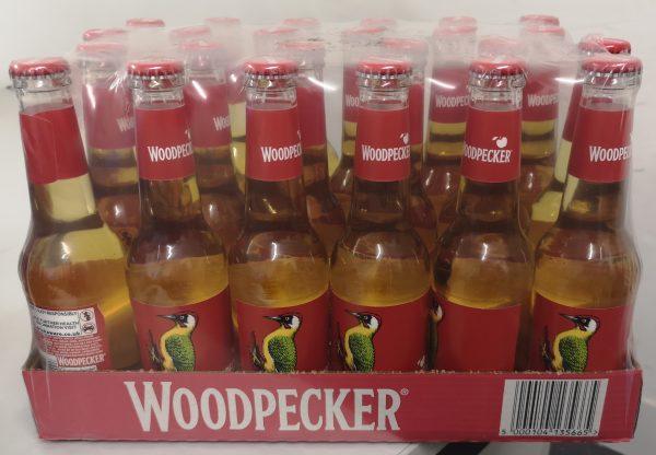 Woodpecker Cider Bottles 24 x 275ml